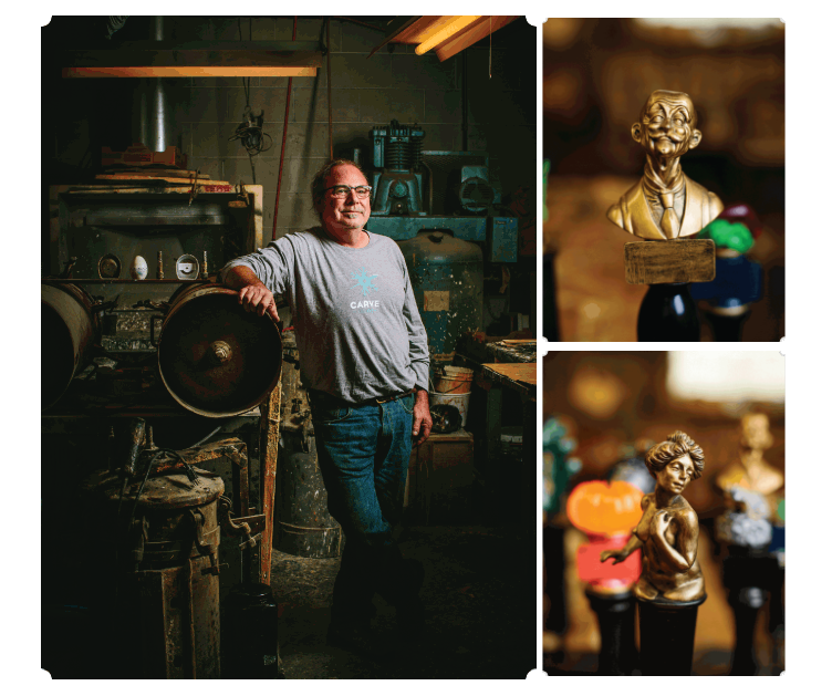 Hand-crafted Beer Tappers - M: Milwaukee's Lifestyle Magazine