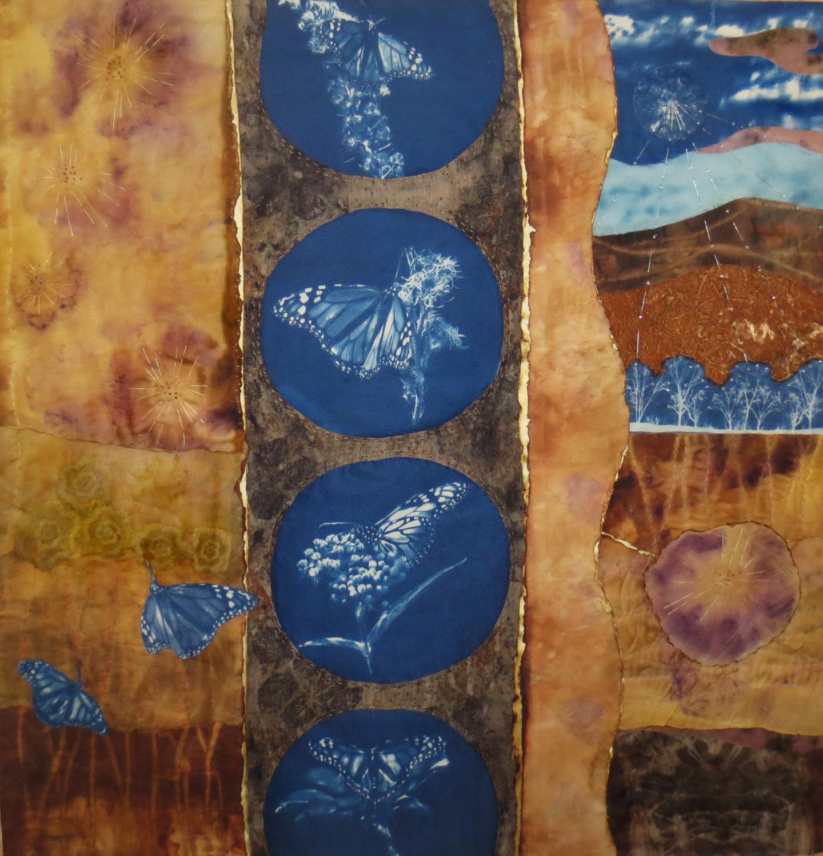 Migration II, 32 x 30, Sold