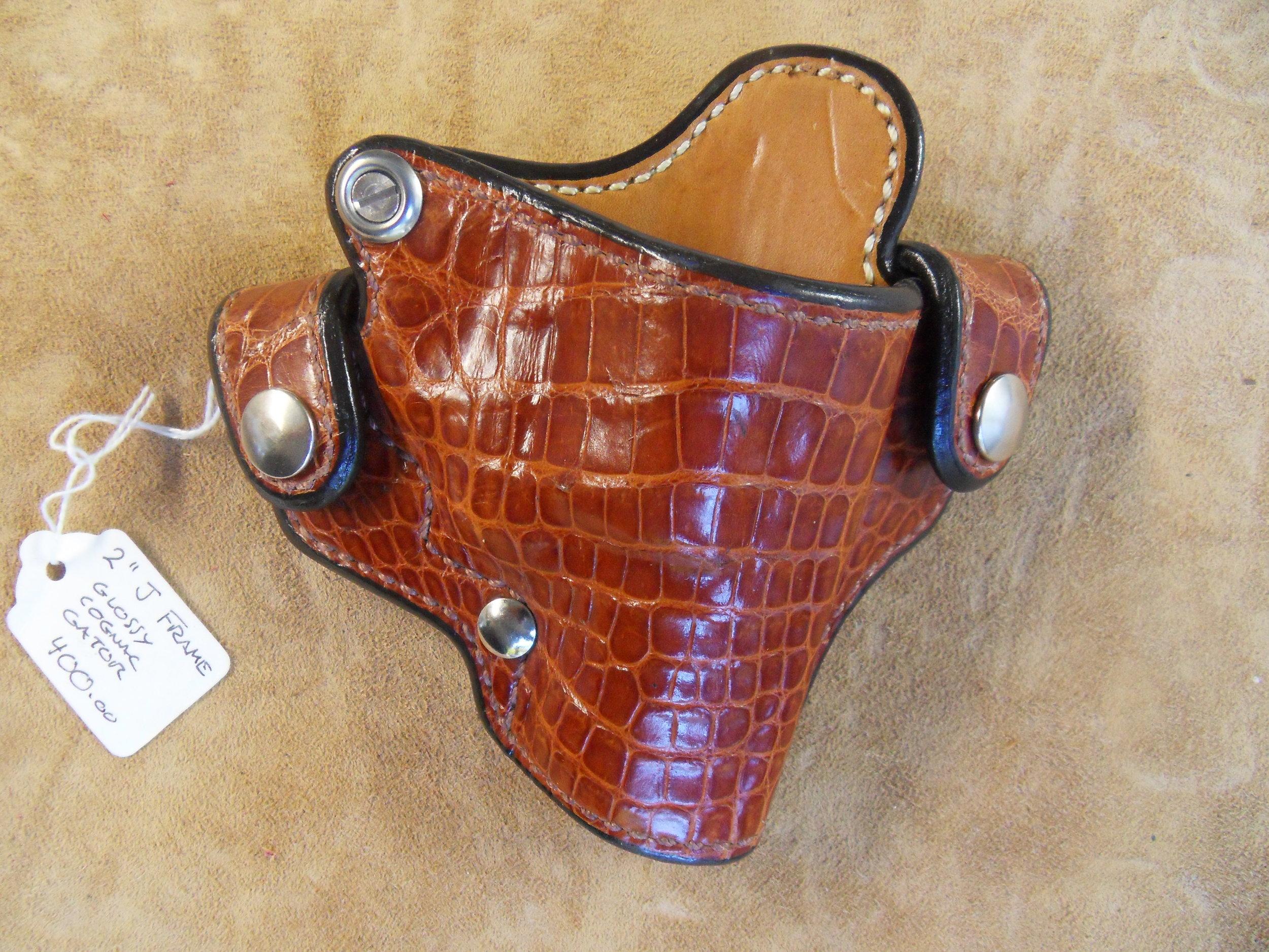 "8784 - 2"" J-Frame, Cognac Gator, $400.00"