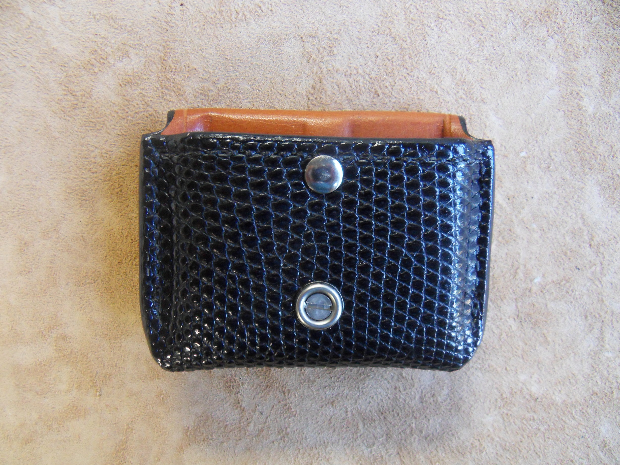 8683 - .45 Auto, Black Monitor Lizard, $145.00