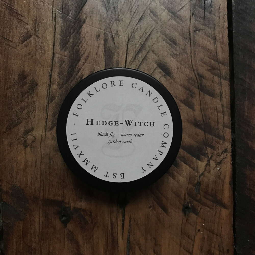 Hedge Witch Folklore Candle Company A hedge witch is one type of witch, and we'll discuss practices associated with hedge witchery in this article. hedge witch folklore candle company