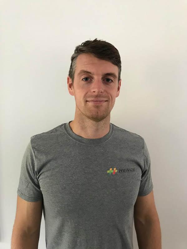 Luke Backhouse Founder of Hence - fitness supplements brand