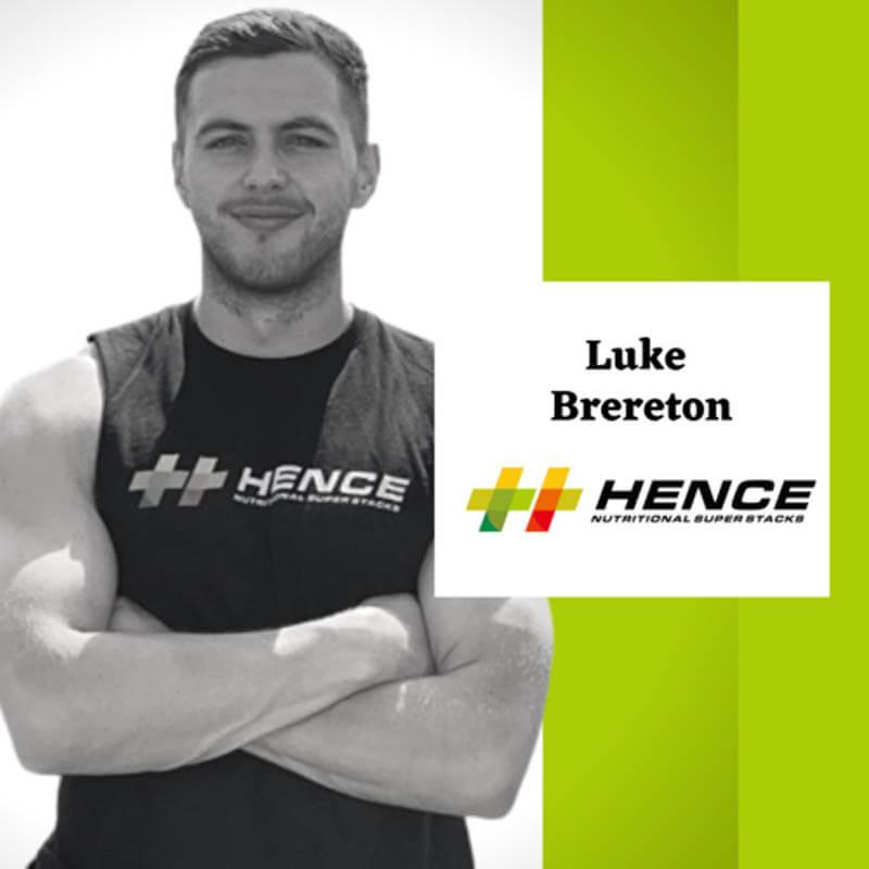 Luke Brereton Hence Ambassador and athlete