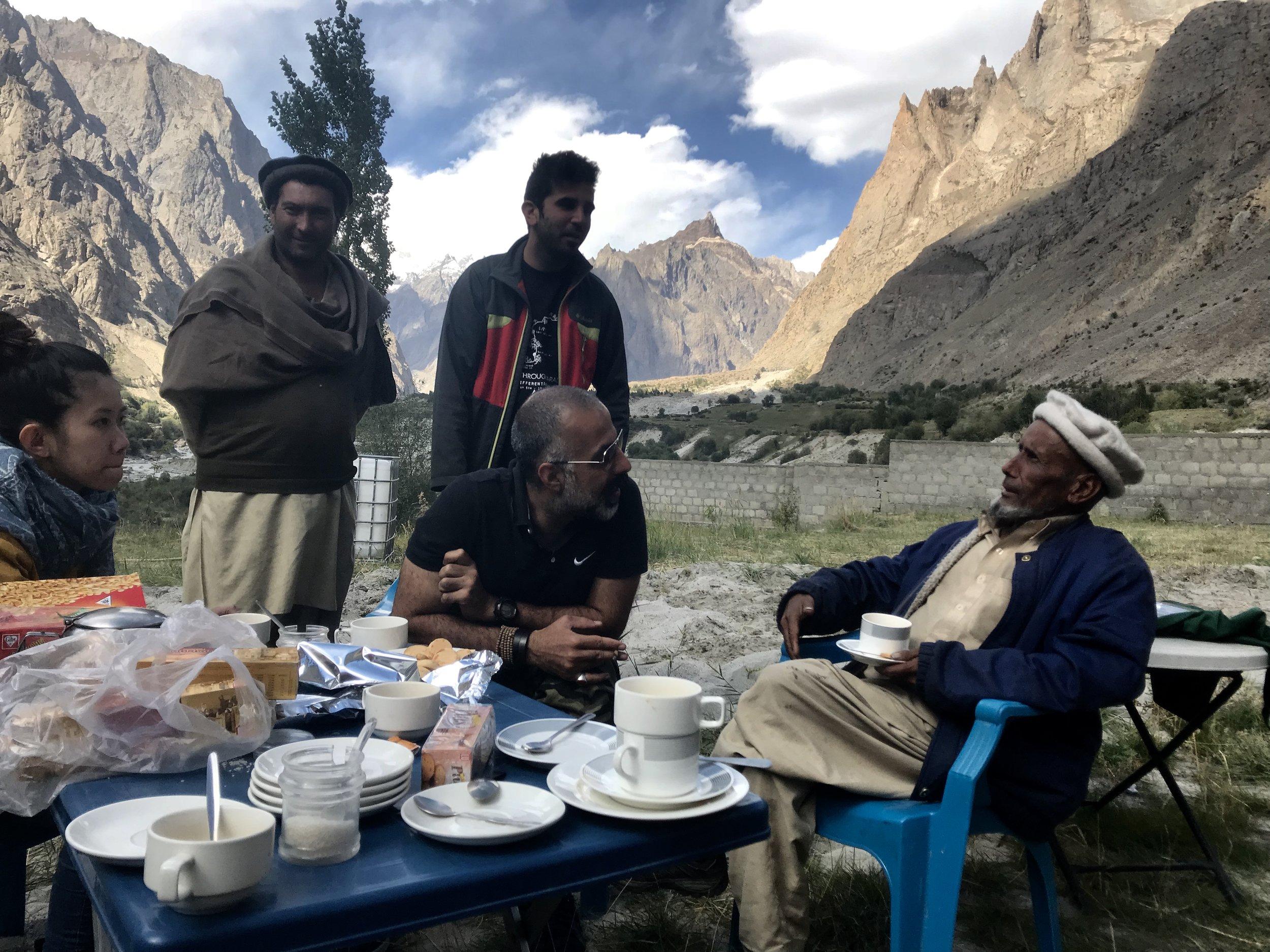 Karim, Sunny, Moin, Ali Khan and An