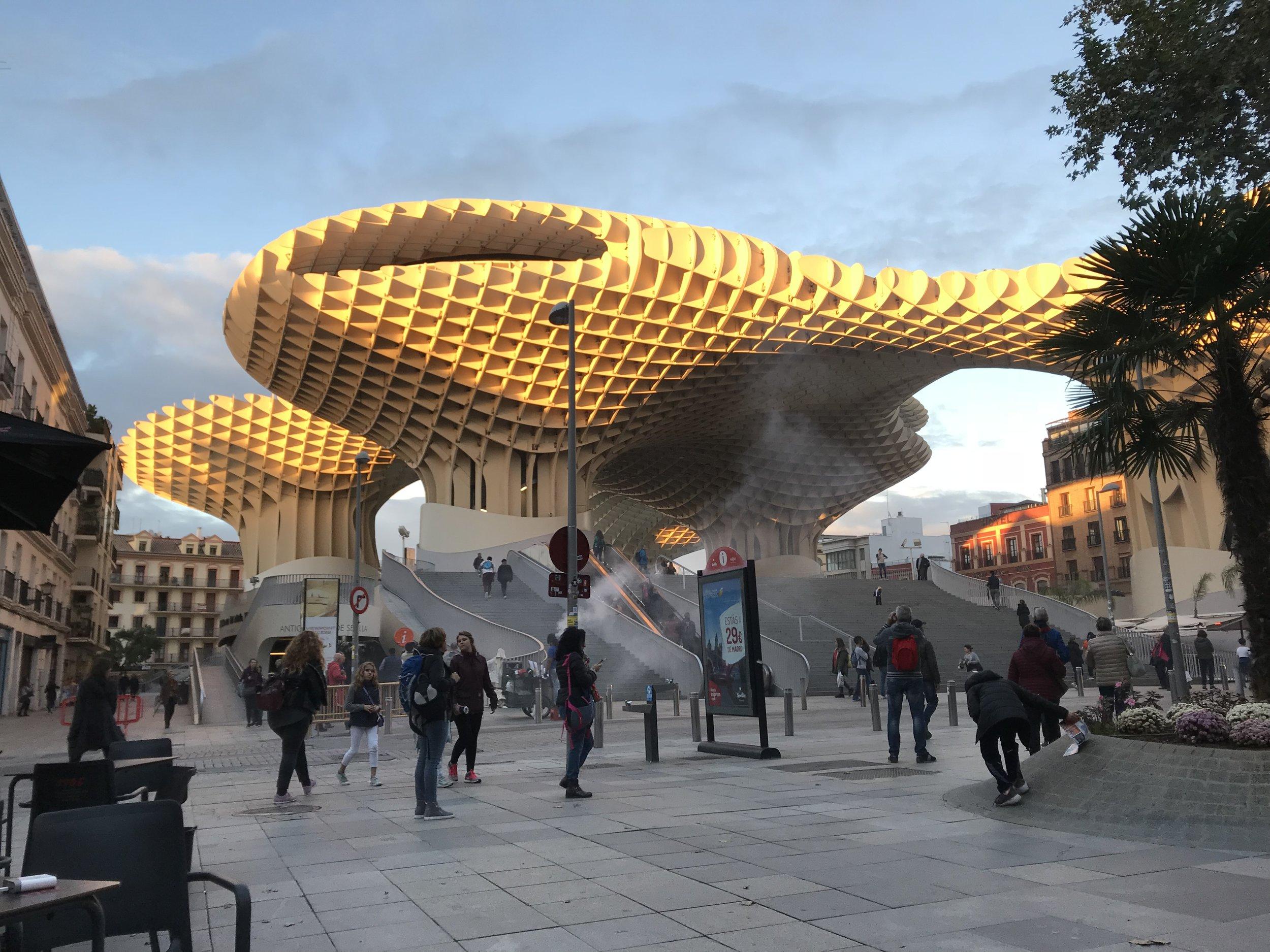 El Metropol Parasol de Sevilla