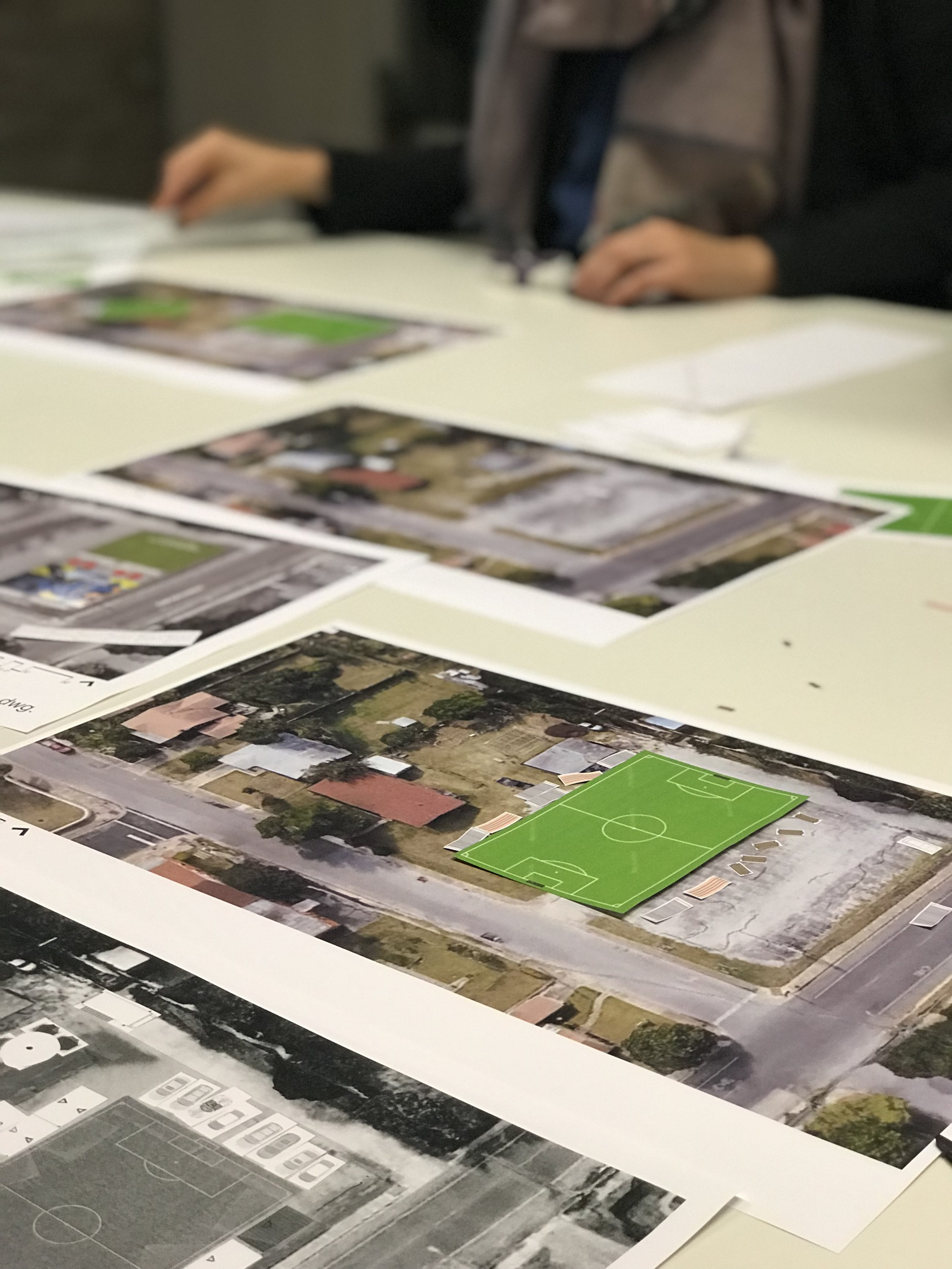 VISION - Take an underused lot in an urban community and transform into a soccer field in an effort to bring the community together. Please contact us for sponsorship opportunities.