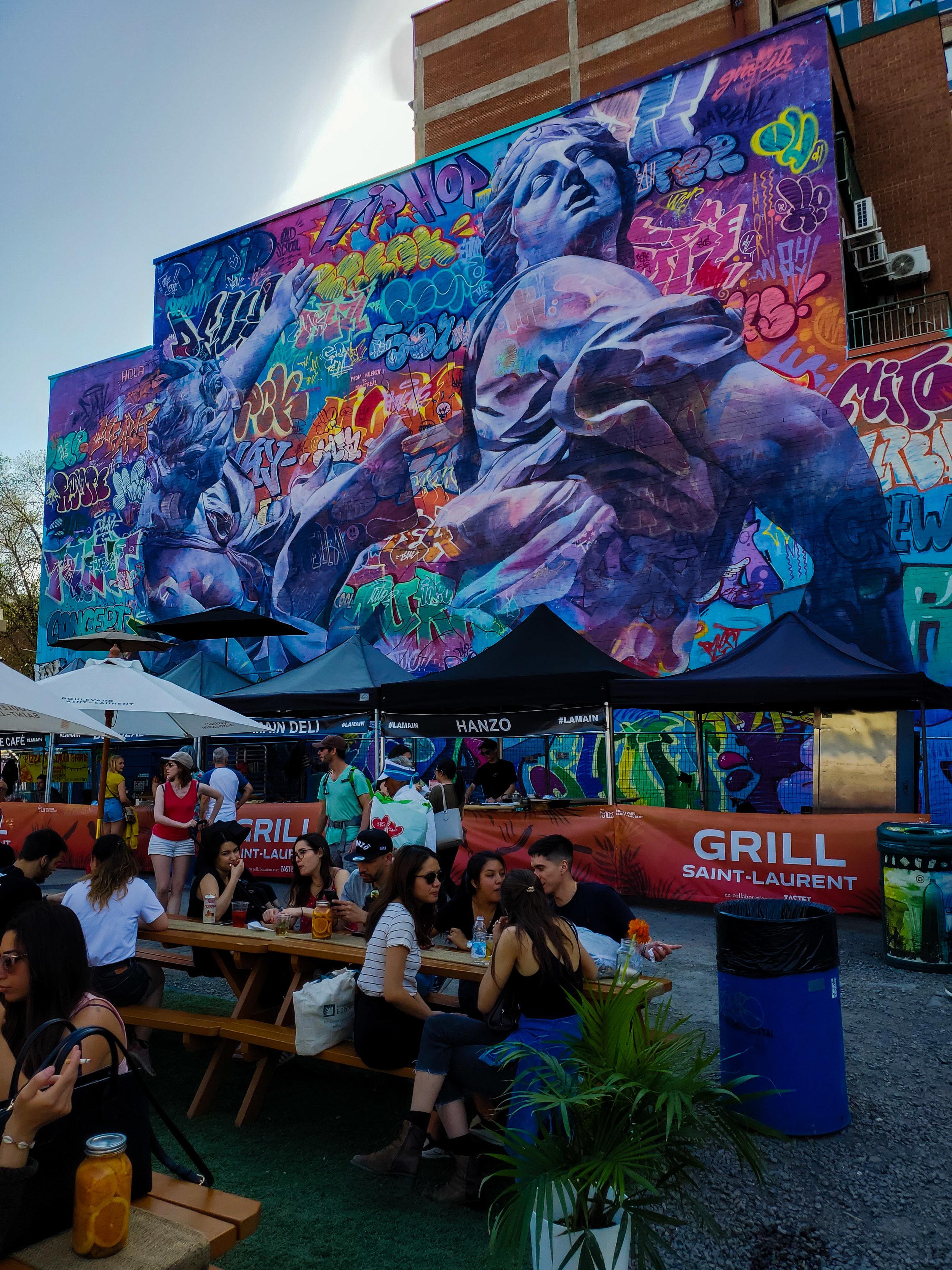 2019 Montreal Mural Festival.