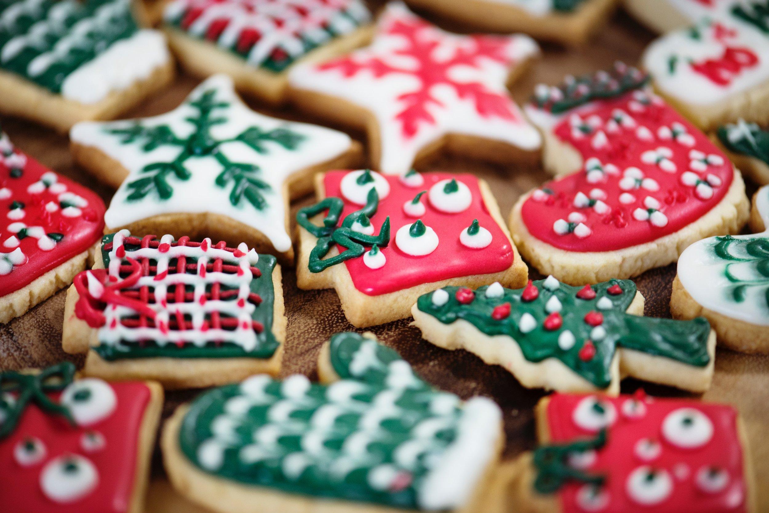 Christmas Sugar Cookie Family Time