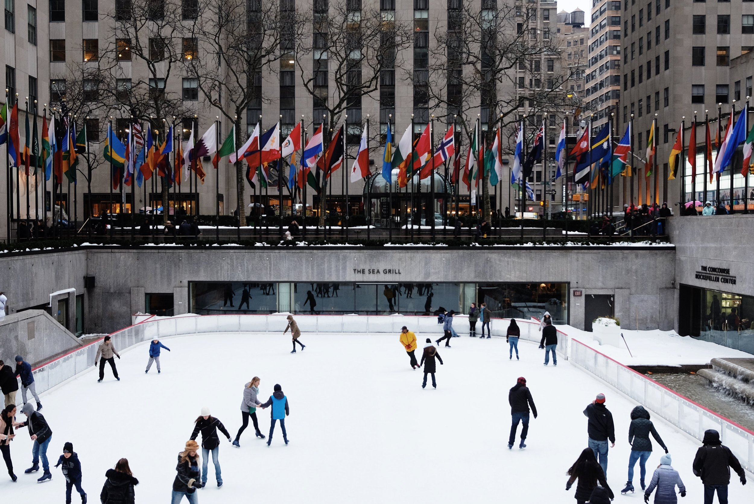Ice Skating Beating Winter Blues
