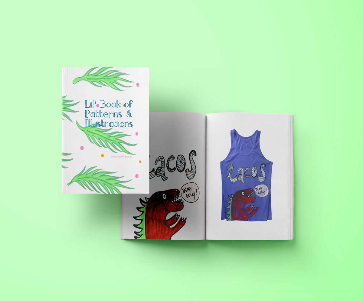 LITTLE BOOK OF PATTERNS & ILLUSTRATIONS -