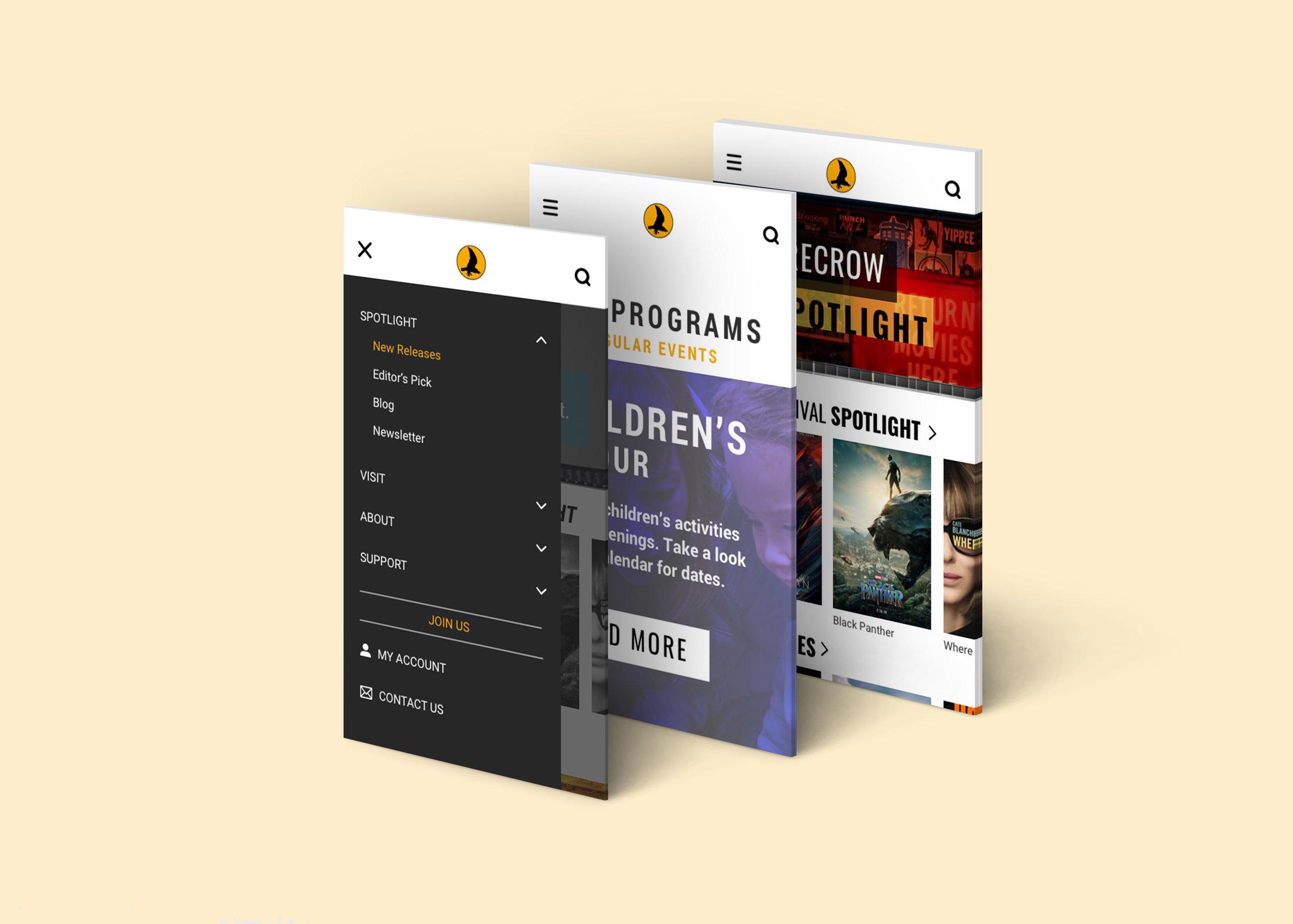 Mobile Screens 1/2