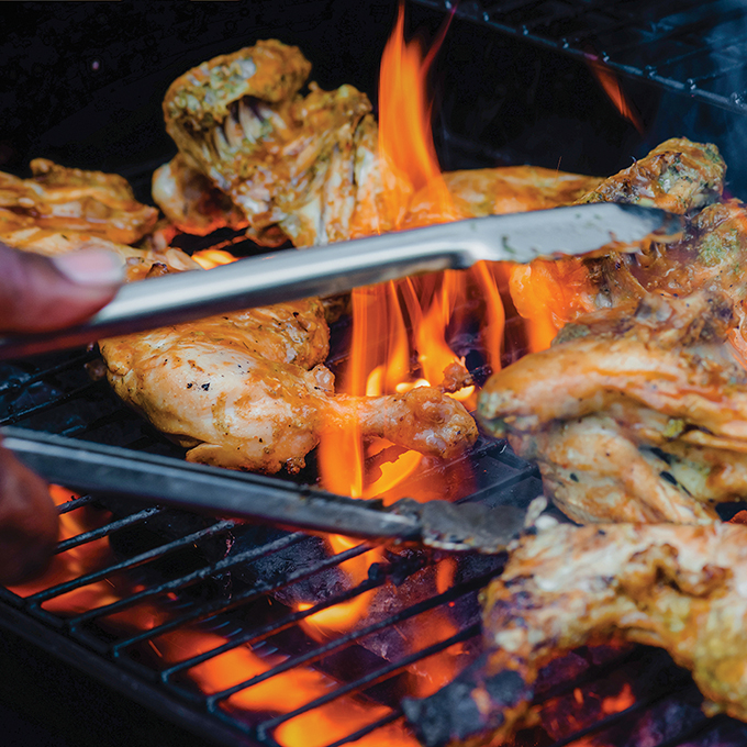 Tasty jerk will make your fillings sizzle.
