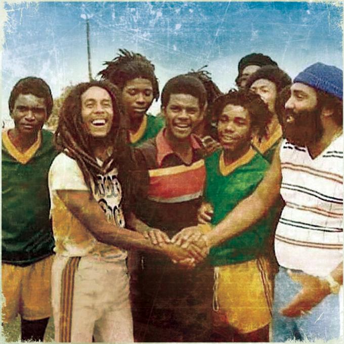 Jack Ruby meets Bob Marley.
