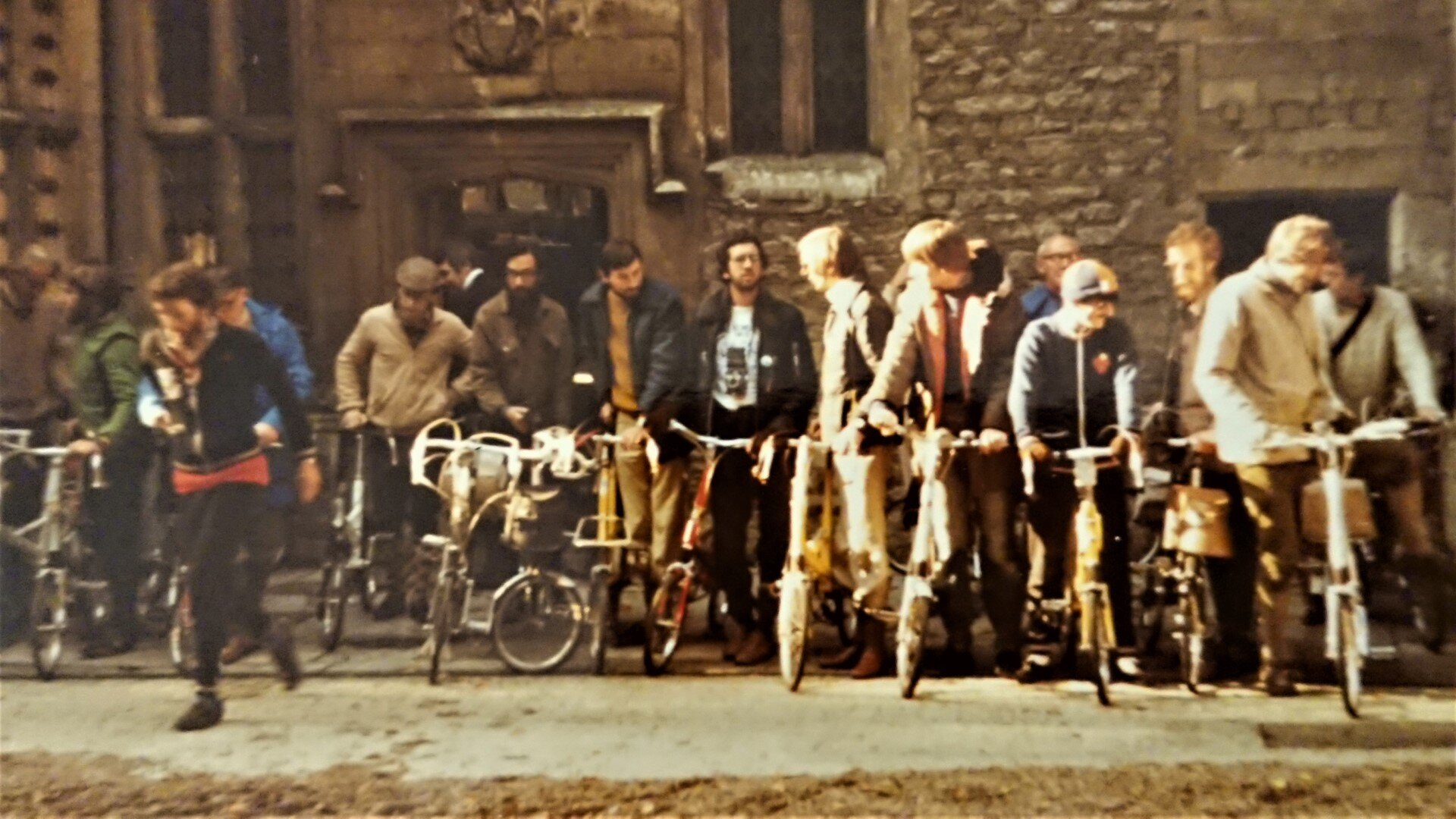 Moulton Bicycle Club Weekend at The Hall, 1980