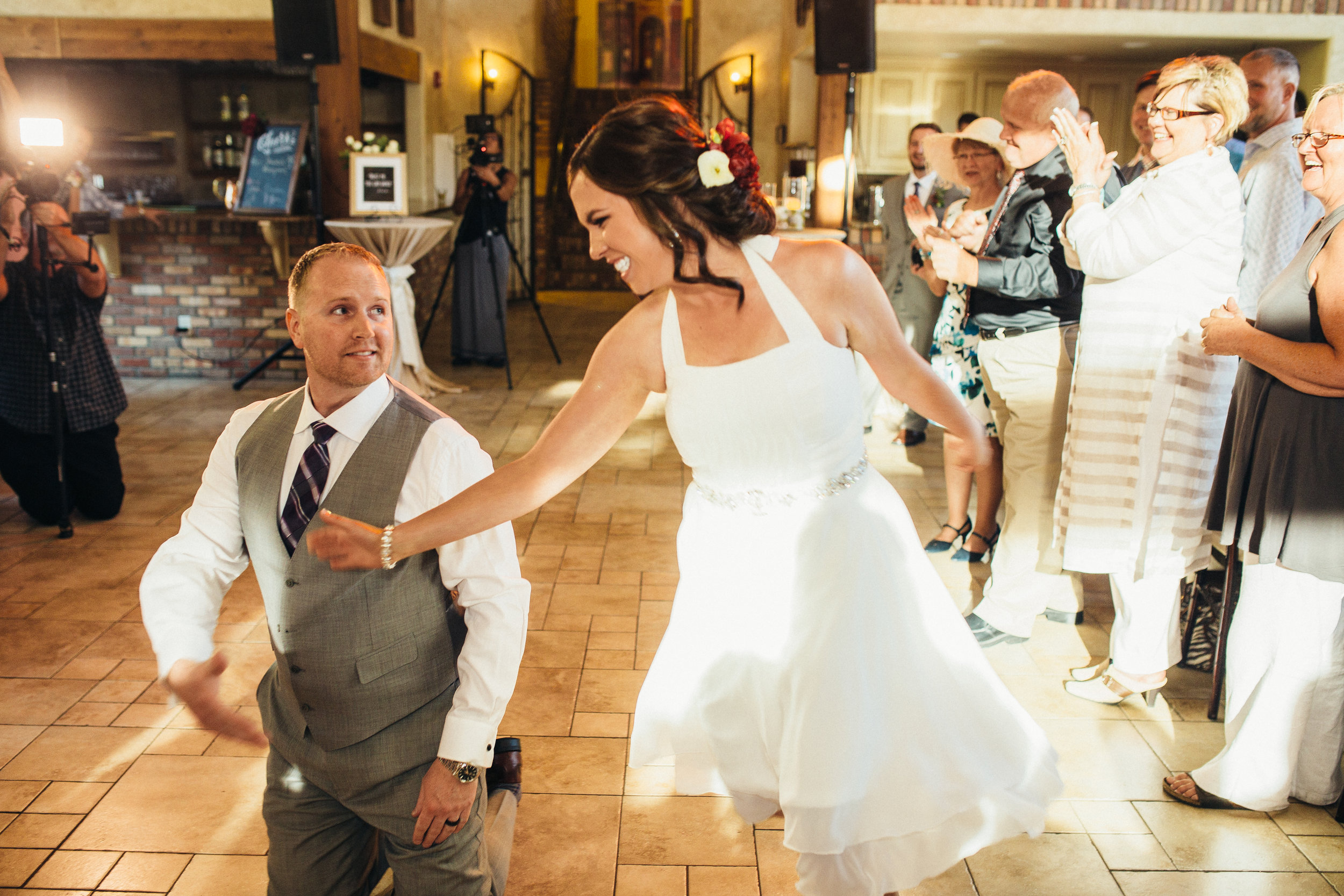 Spice up your first dance with Wedding Dance Coach... our sister studio!