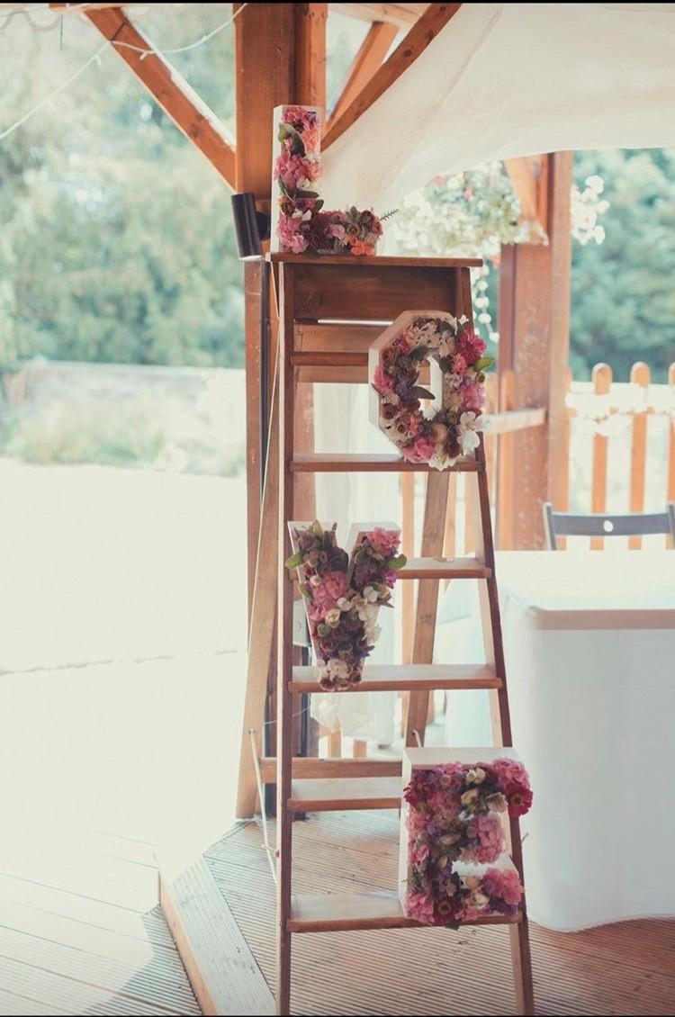 Love letters on ladder.jpg