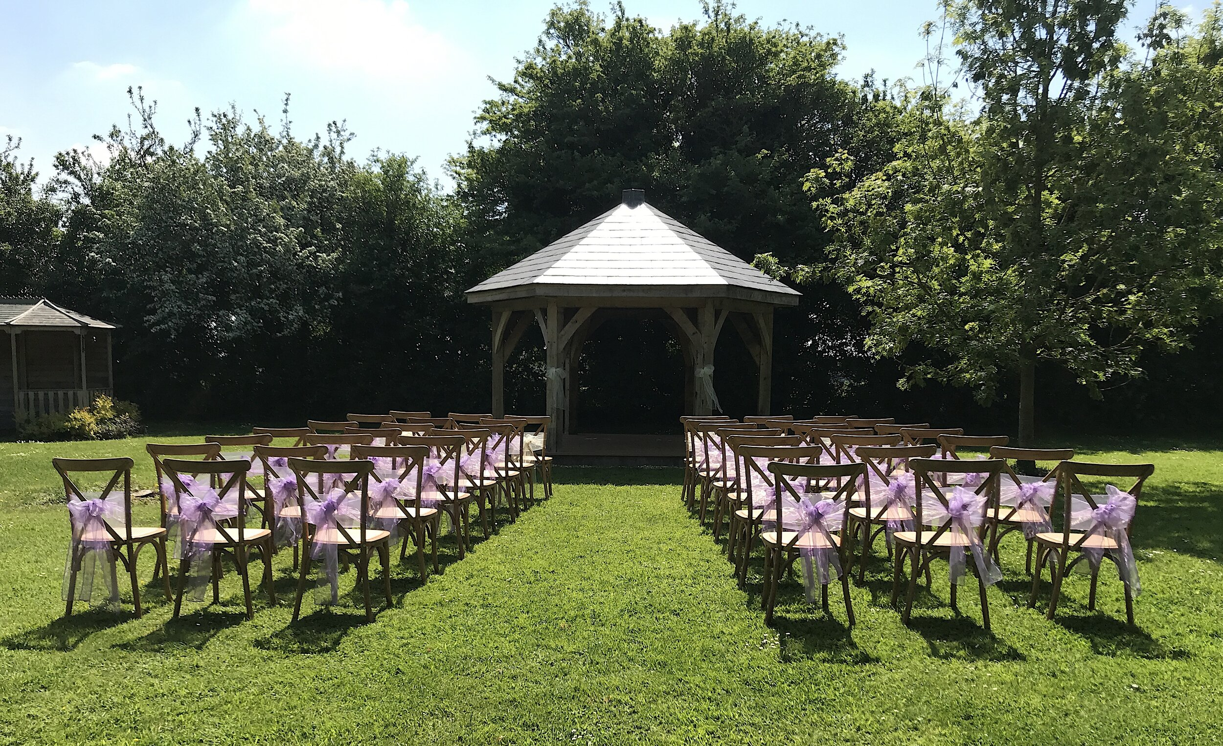Spring and Summer weddings - The most popular time of year for weddings in Spring and Summer, and it's not hard to see why. The Manor really comes to life in the beautiful sunshine.