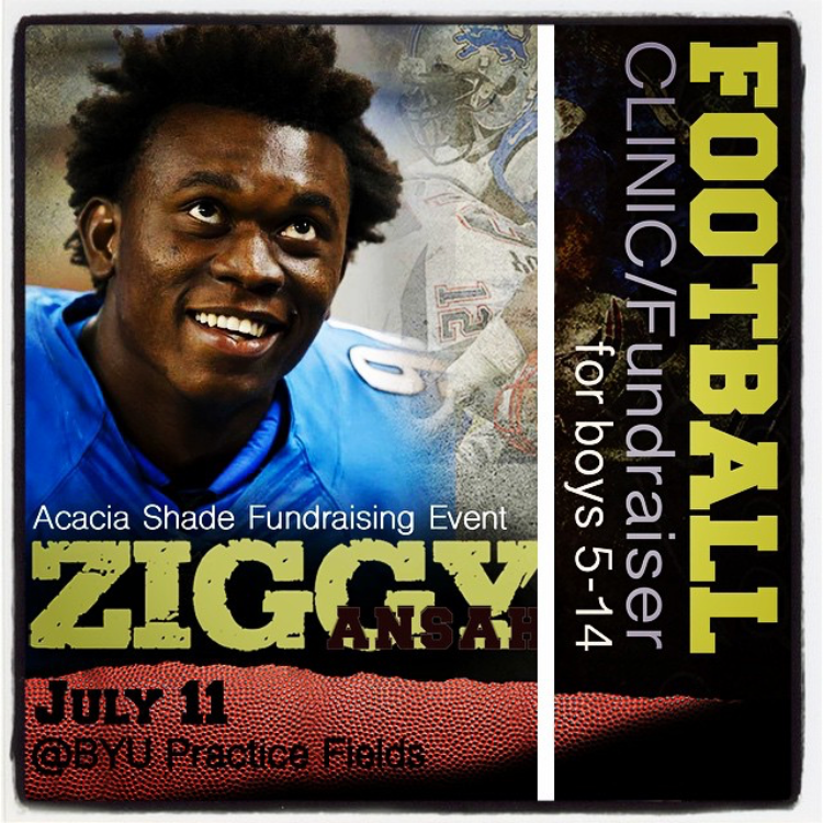 ZIGGY ANSAH FOOTBALL CLINIC