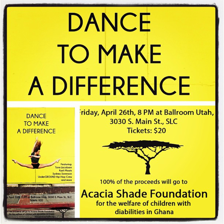 DANCE TO MAKE A DIFFERENCE