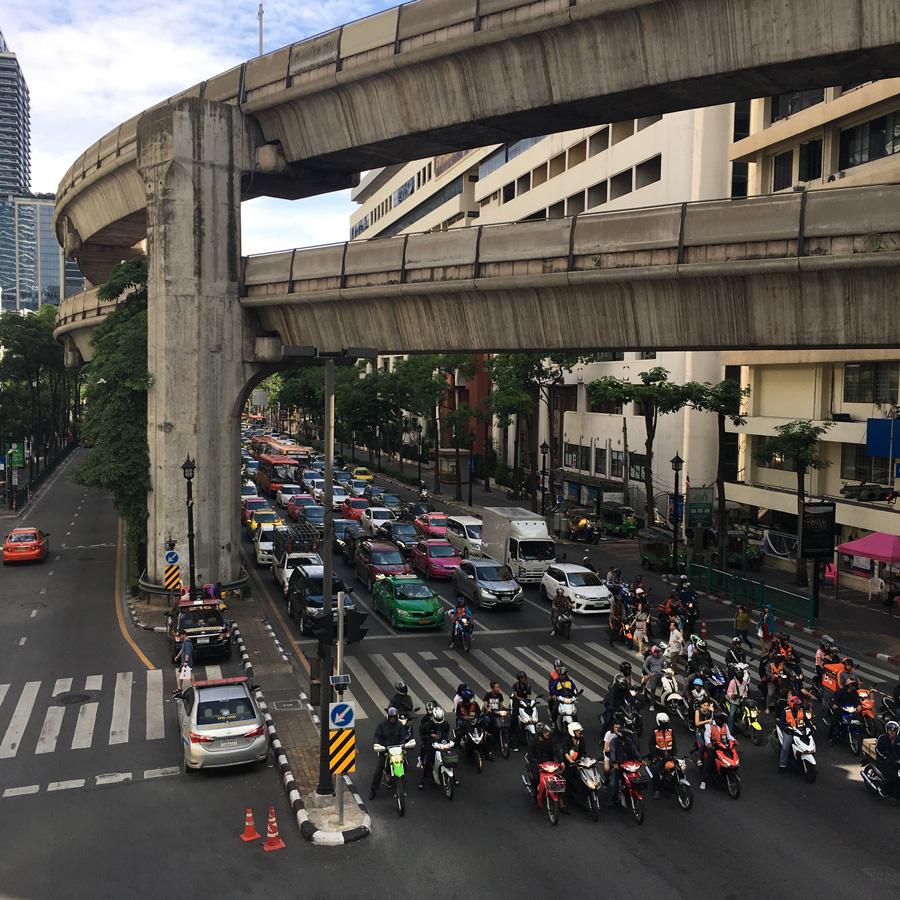 Ratchadamri Rd., Bangkok, Thailand