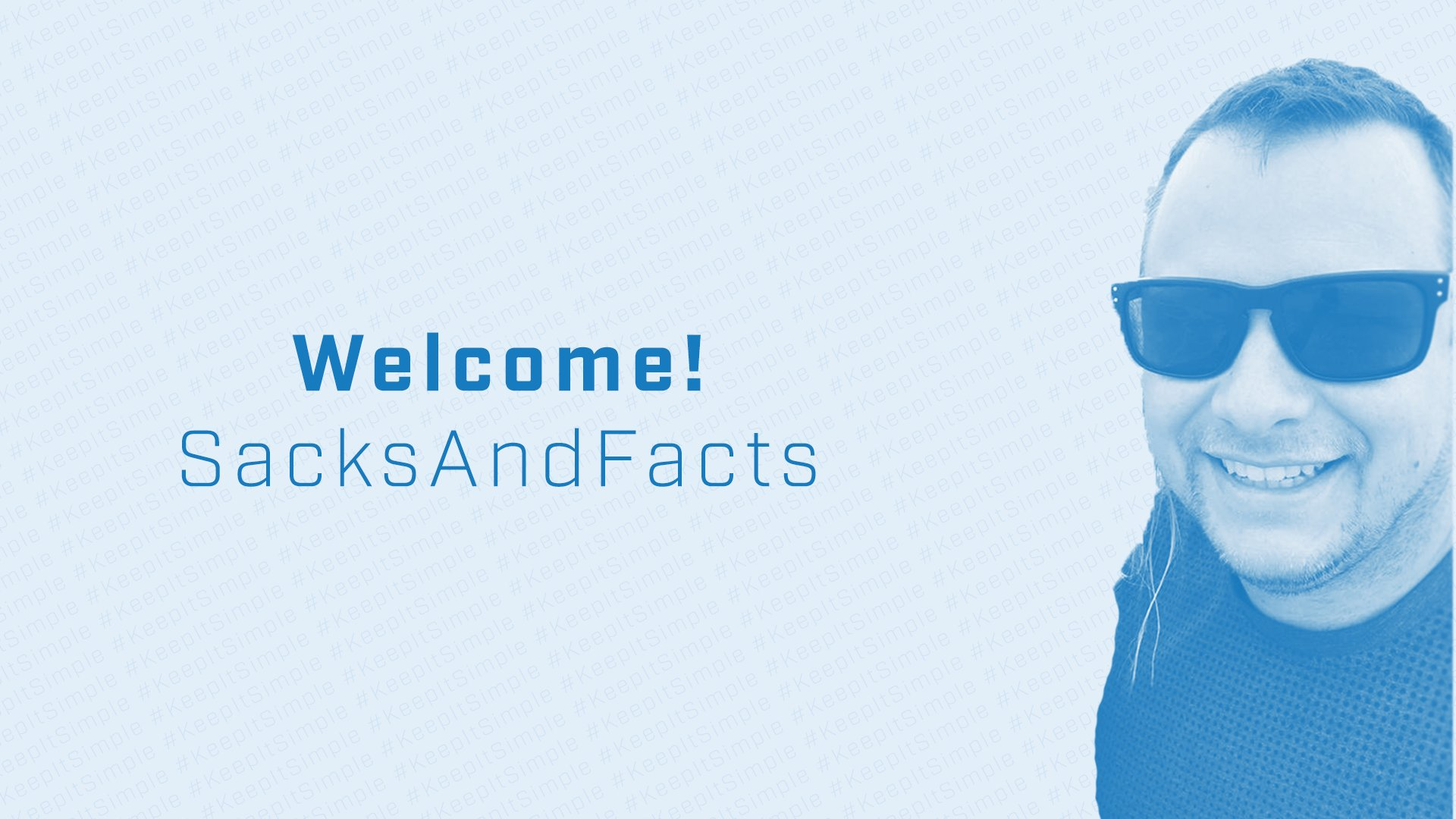 Welcome SacksAndFacts to the Simplicity Stream Team -