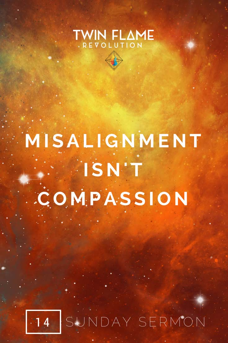 Misalignment isn't compassion