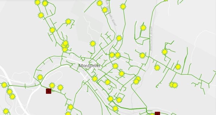 GMP solar map