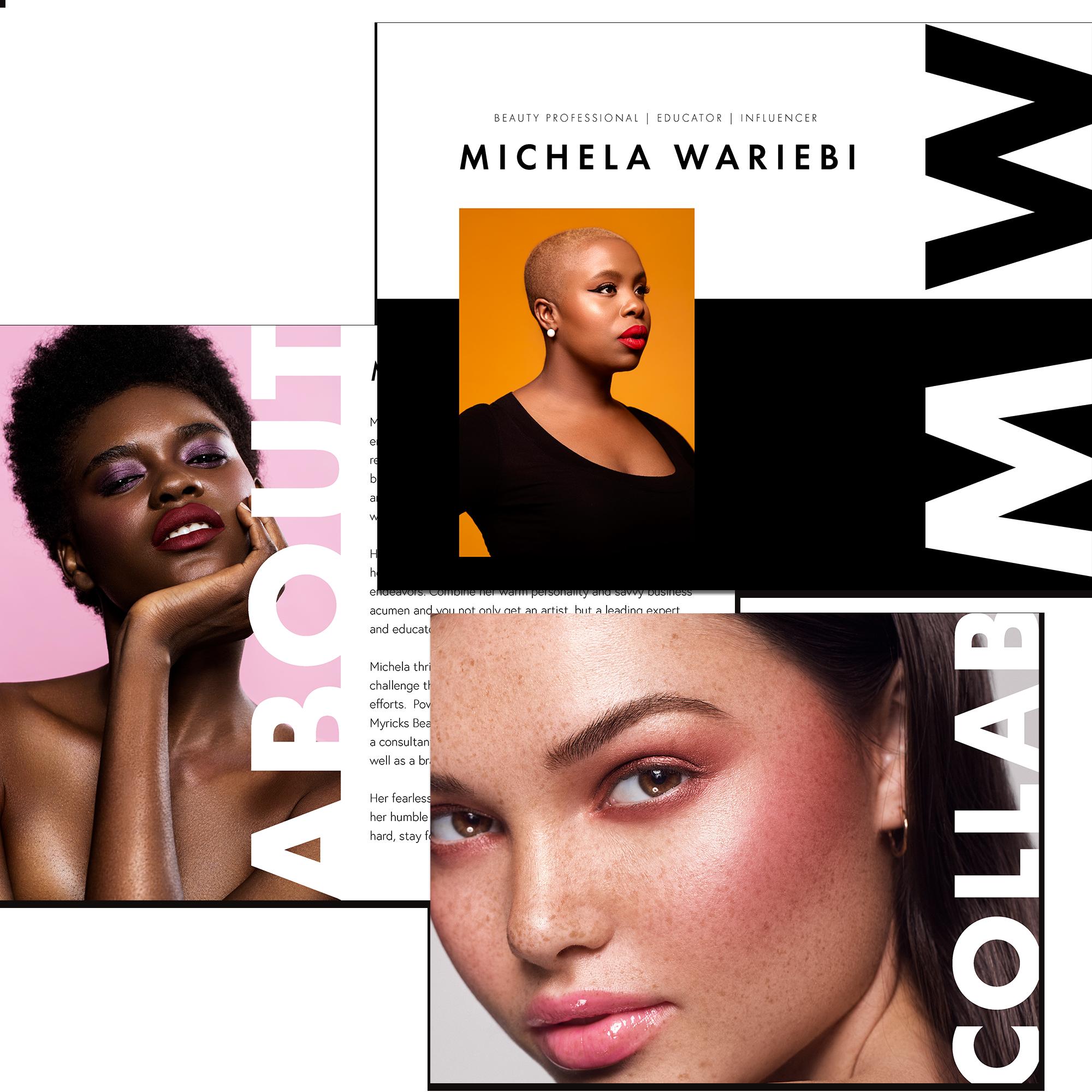 Michela Wariebi Media Kit -