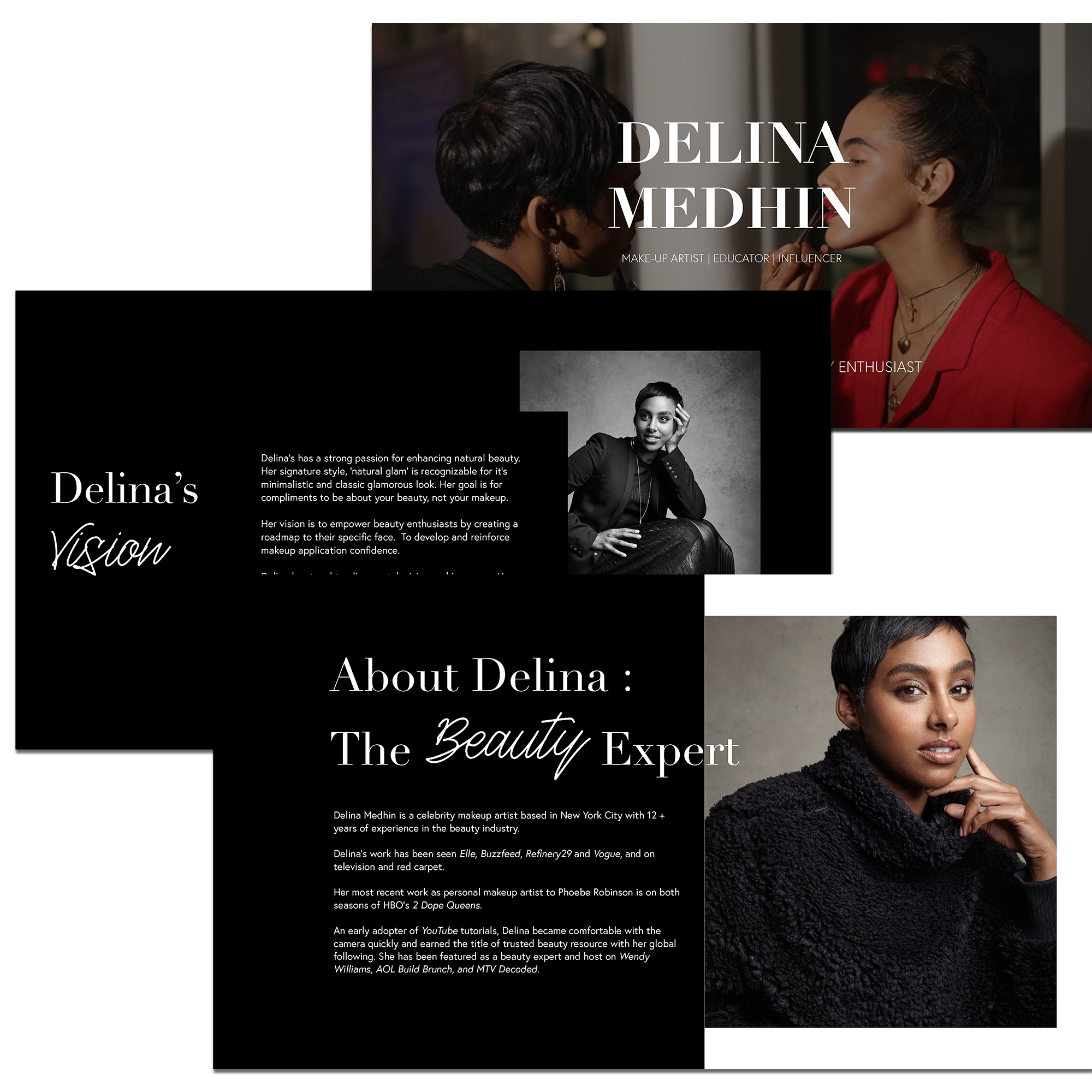 Delina Medhin Pitch Deck -