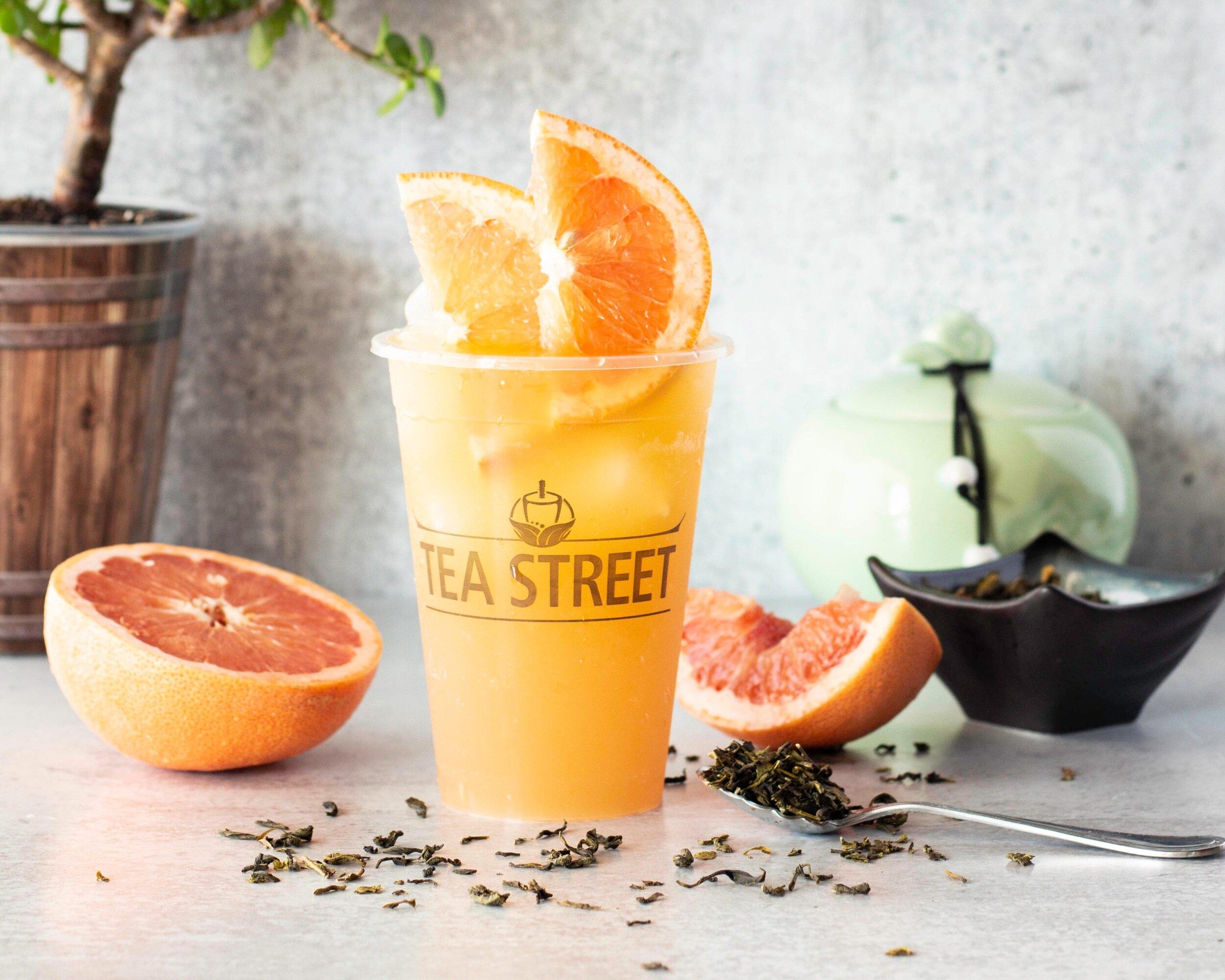 Grapefruit Green Tea