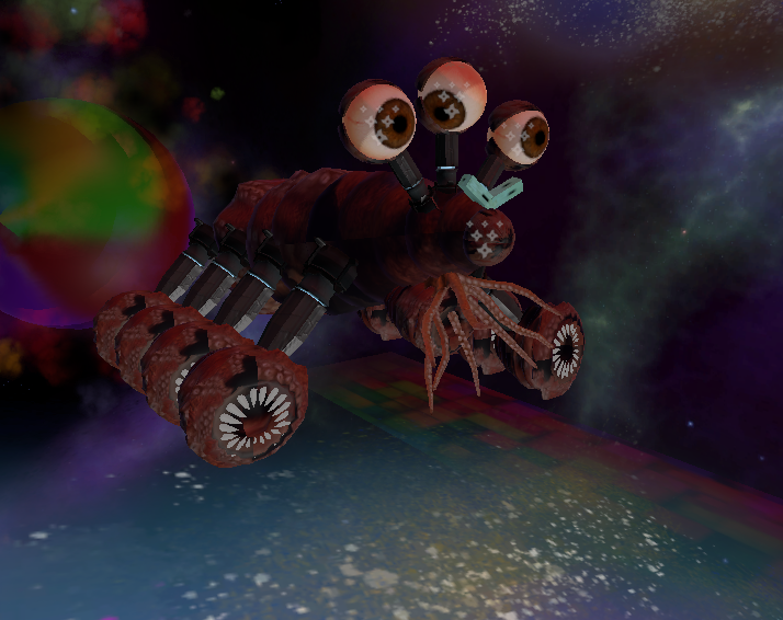 The evil Klurxon space lobster.