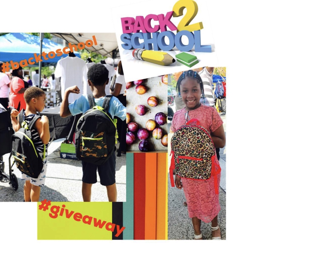 August 2018 - August is back to school time for many students and we wanted to send our future entrepreneurs, doctors, artist and whatever they want to be, in style and more than ready for their new school year! We initiated a back to school social media book bag giveaway, gave three book bags to three special students at the Real Black Friday Event in Cleveland, Ohio and we donated three book bags full of supplies to the YWCA and the Greater Cleveland Kids in Need Resource center collectively.