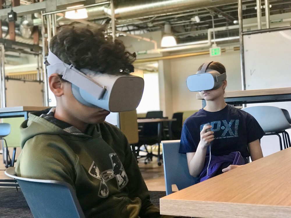 - Virtual reality cybersecurity games that are fun and engaging and give confidence to students as they learn cybersecurity material.