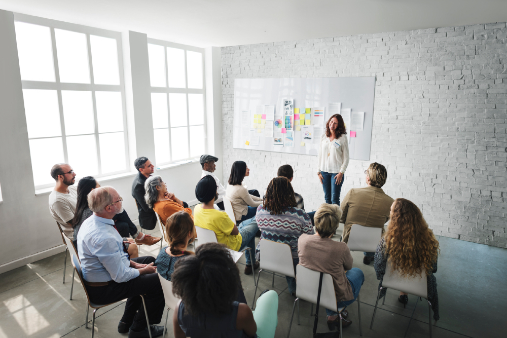 - Professional development for high school teachers which includes train-the-trainer training on our curriculum, PowerPoint slides, lesson plans, monthly webinars, and customer support to ensure they successful in the classroom.
