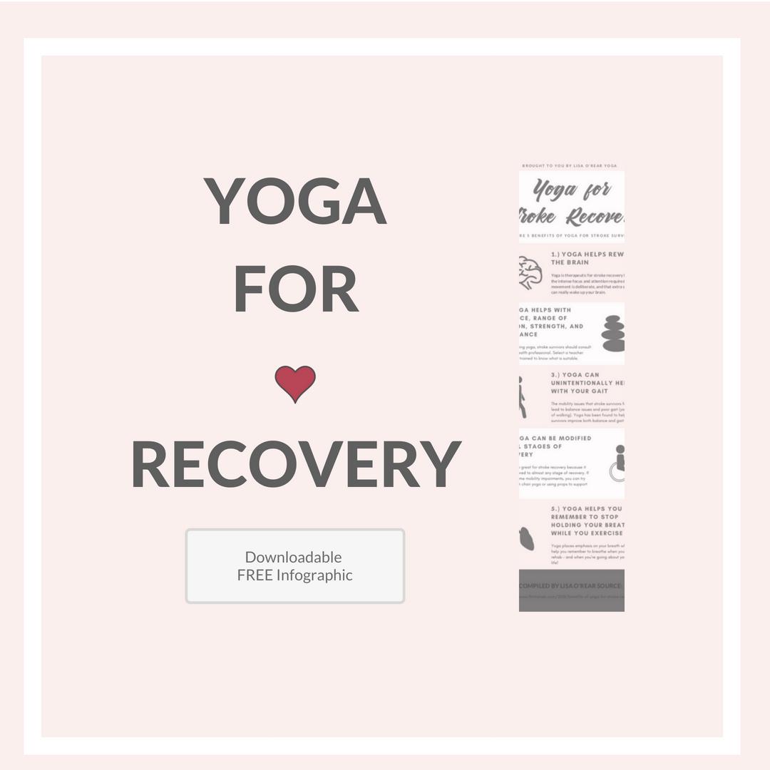 Infographic - 5 Benefits of Yoga