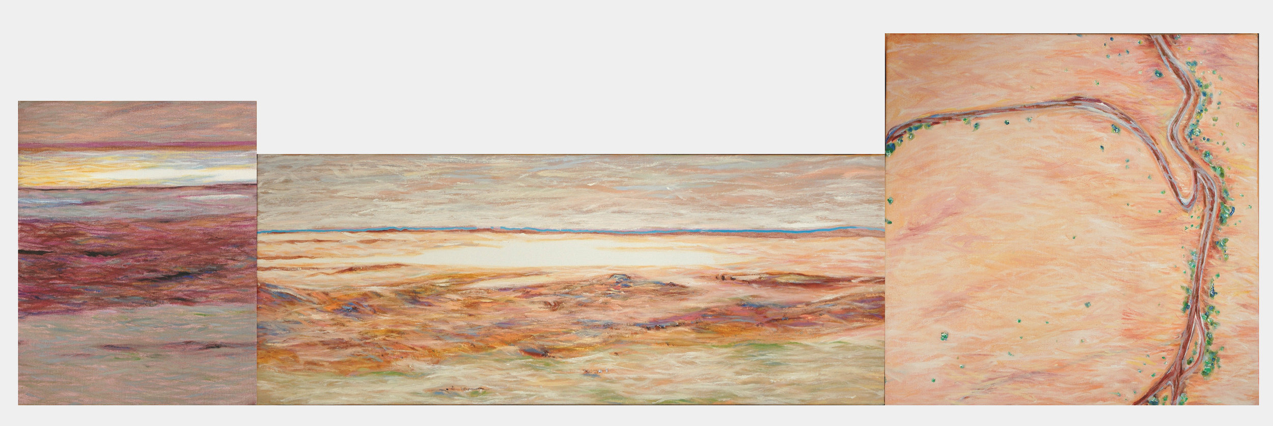 LAKE EYRE DRYING (STUDY)