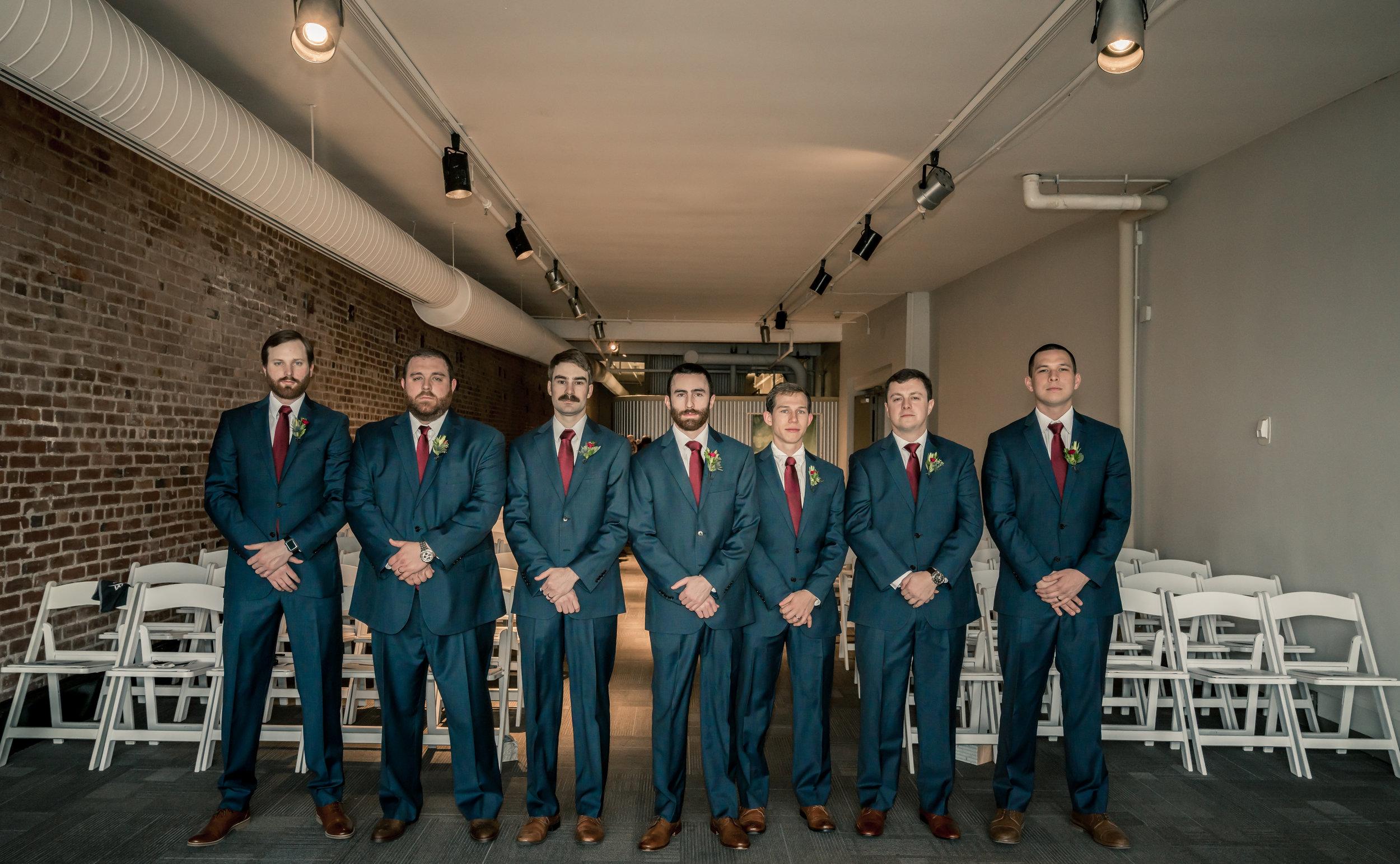 groomsmen field photo louisville photographer