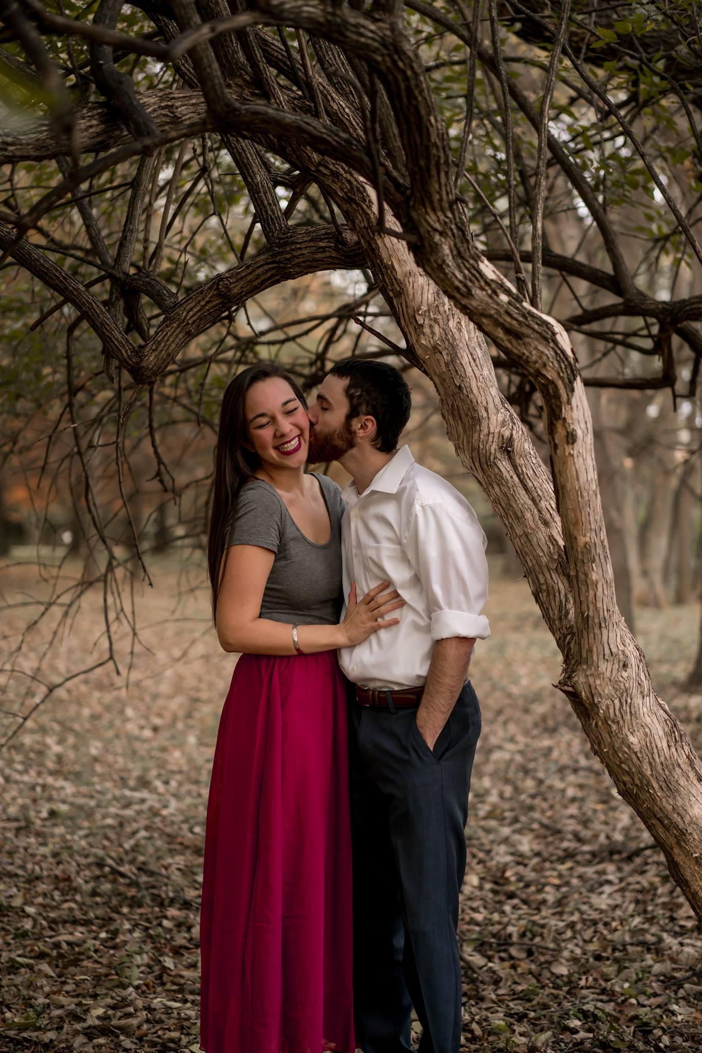 couple engagement field photo louisville photographer