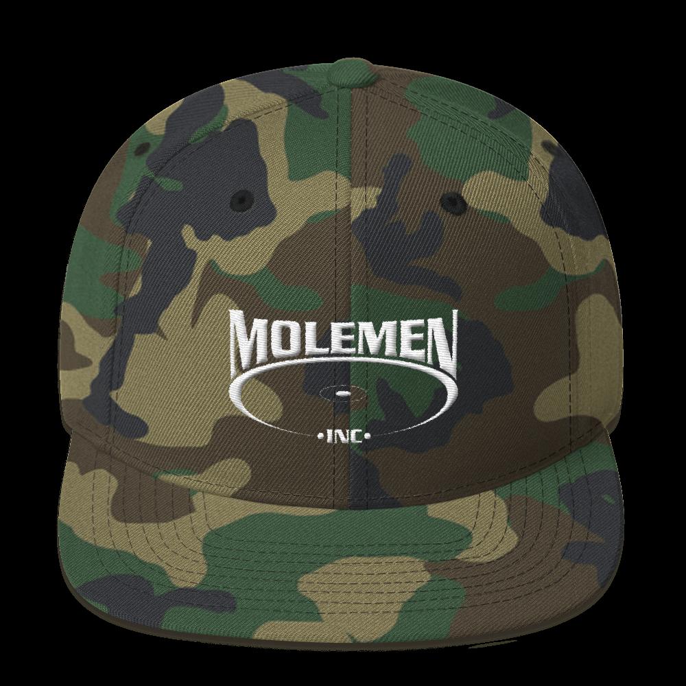 Molemen Classic Logo, Snapback  hats, various colors