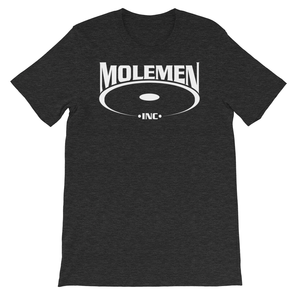 Molemen Classic Logo  T Shirts, various colors, Sizes