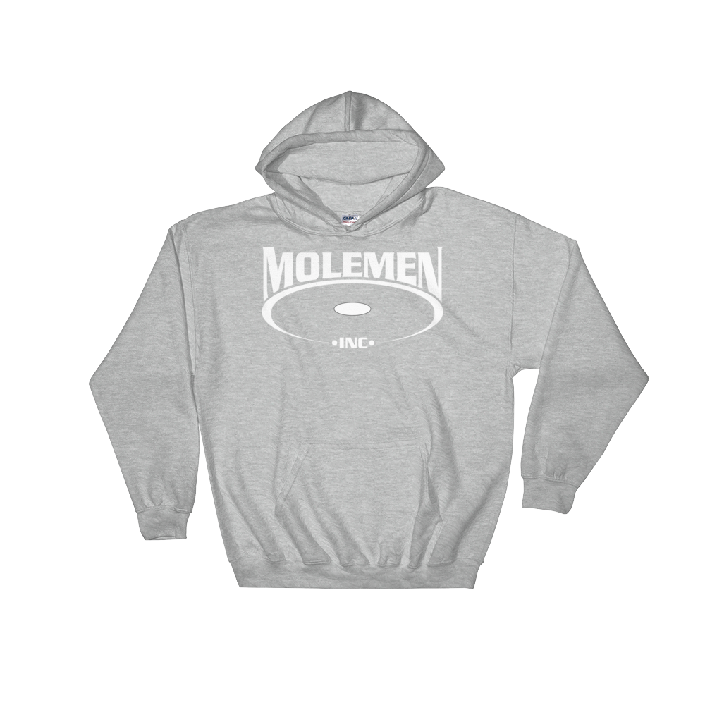 Molemen Classic Logo Hoodies, Various colors, Sizes
