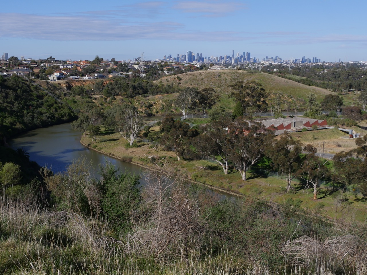 View from Lily Street Lookout