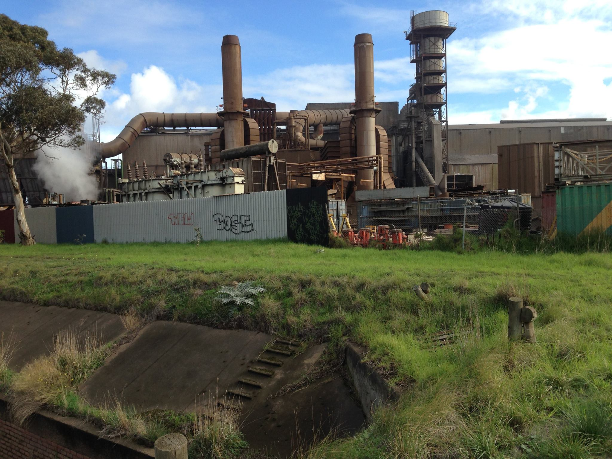 The Sewer and Industrial Melbourne