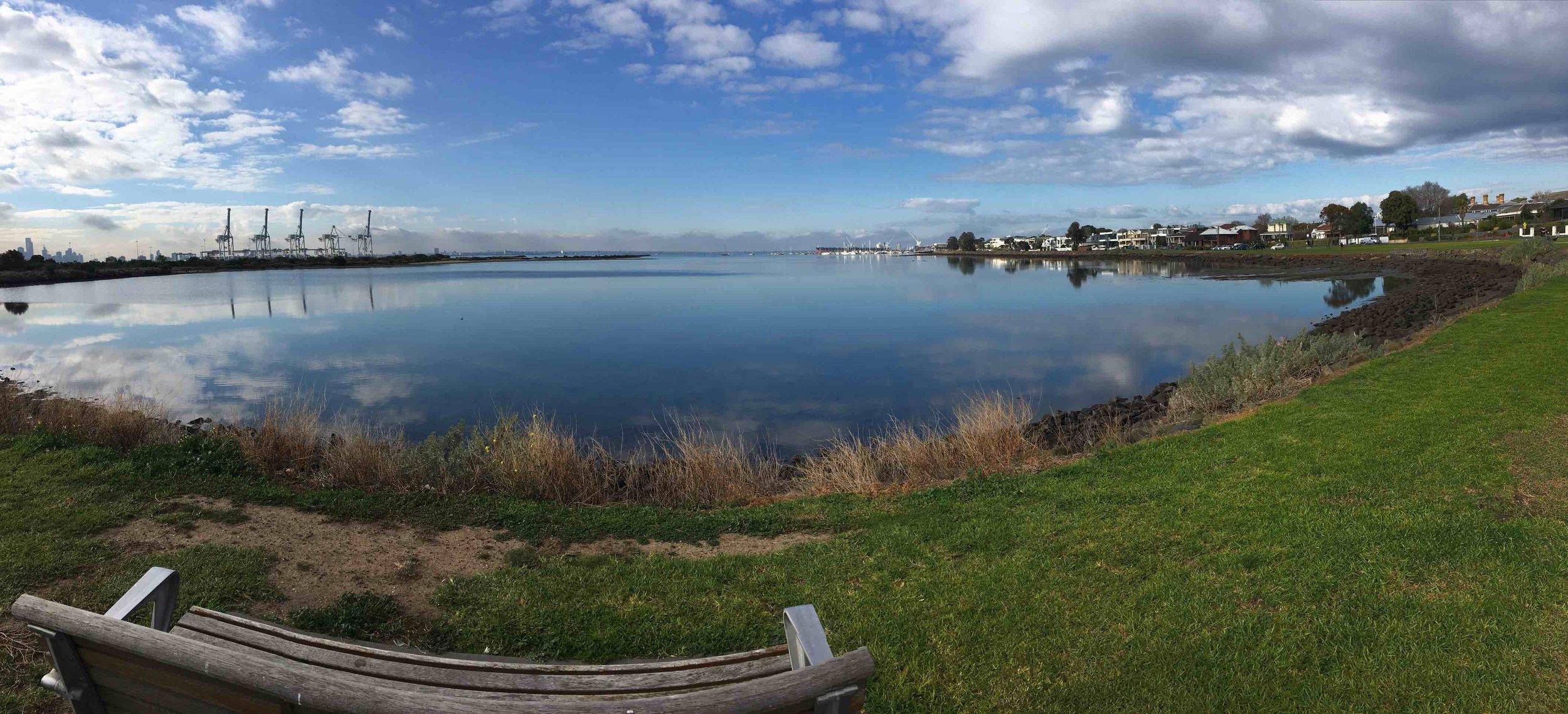 Hobsons Bay.