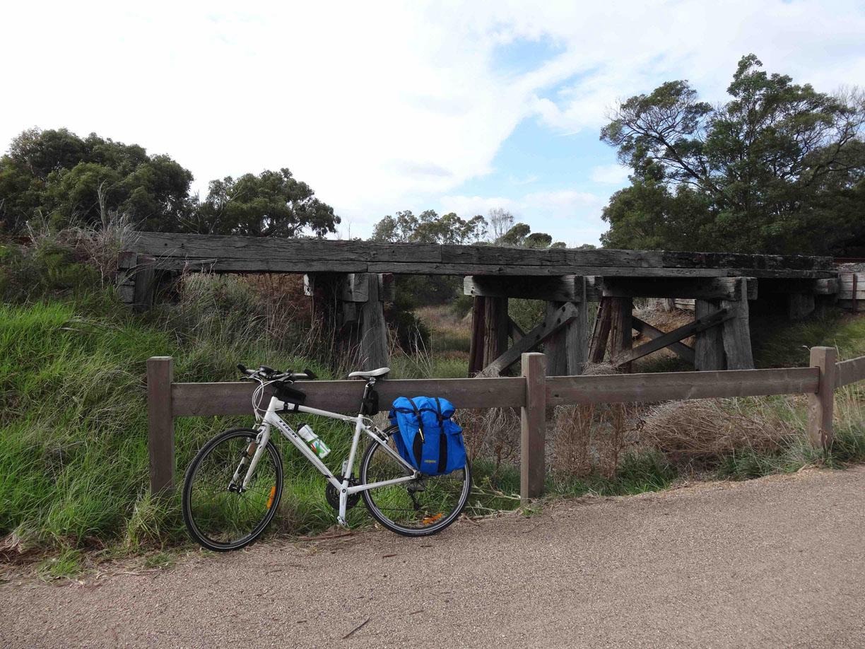 An old railway bridge.