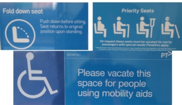 Give priority to passengers with special needs.