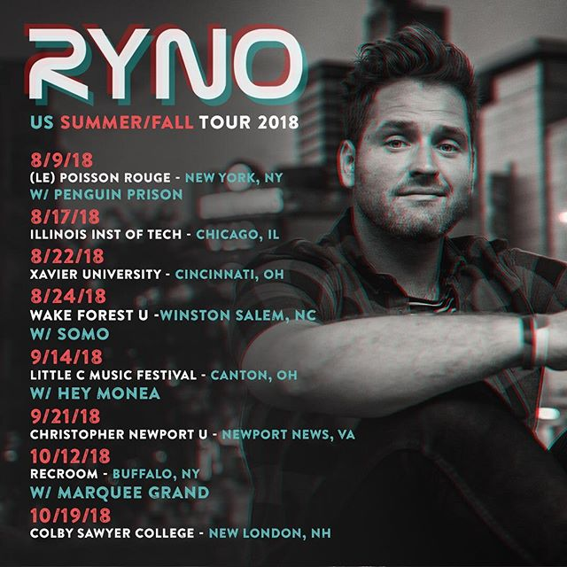 🇺🇸 Summer / Fall Tour Dates! w/  @officialsomo @heymonea @marqueegrand The run kicked off last night at @lprnyc w/ @penguinprison & @dotmvsic !! Looking forward to seeing fam and friends! 🦏💙🌎 @littlecmusicfestival @theauricleoh  @recroombuffalo @illinoisinstituteoftechnology @xavieruniversity @wfuniversity @christophernewportu @colbysawyercollege 📷: @imaprilfools 🙏🎶🙏