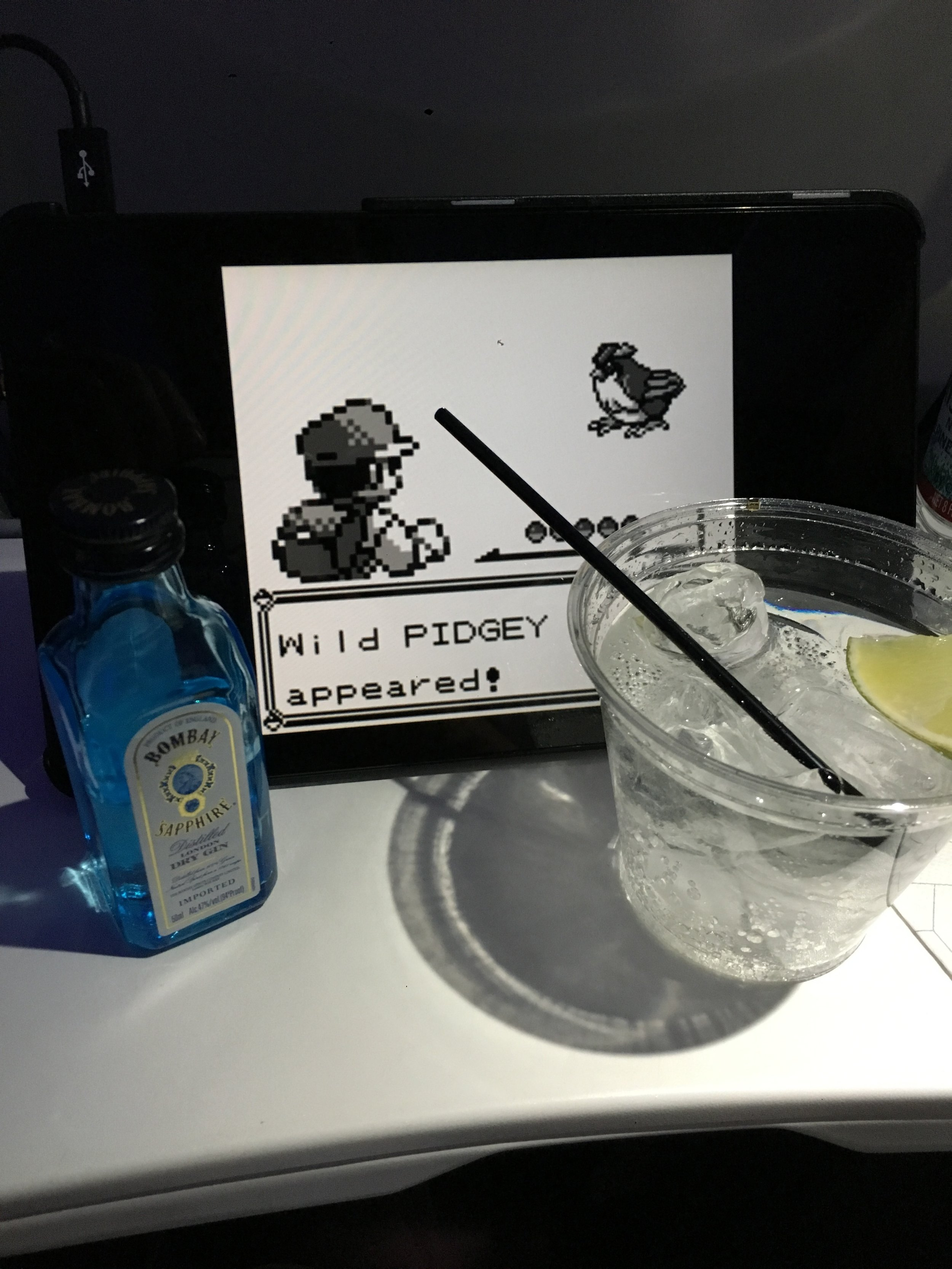 Airplane seats aren't so bad this way.