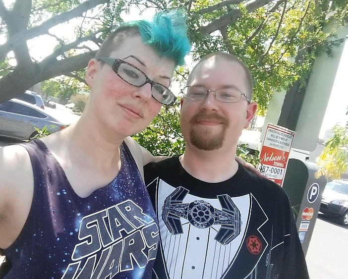 Mason took me to orientation at North Idaho College, then we ran away to WorldCon 2015!