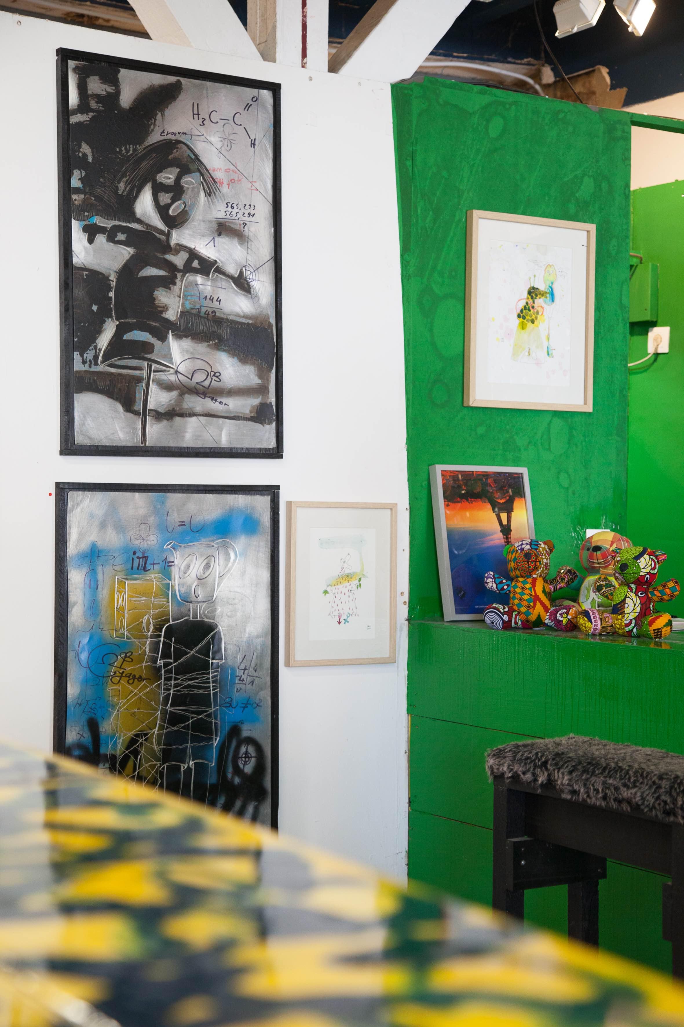 Art Ruche est aussi un tiers lieu 6 Quai Mayrle 97110 Pointe-à-Pitre  www.art-ruche.com